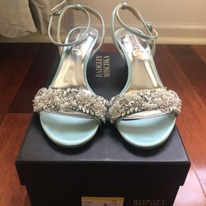 Badgley Mischka Fiona Kitten Heels